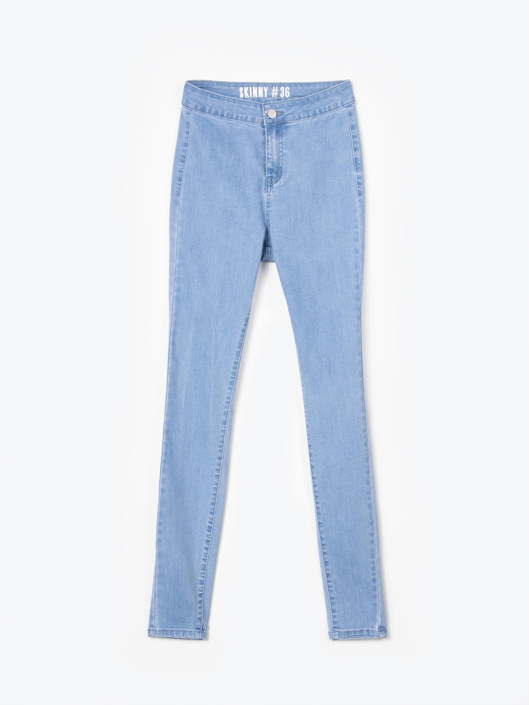 GATE Základné džínsy skinny s vysokým pásom