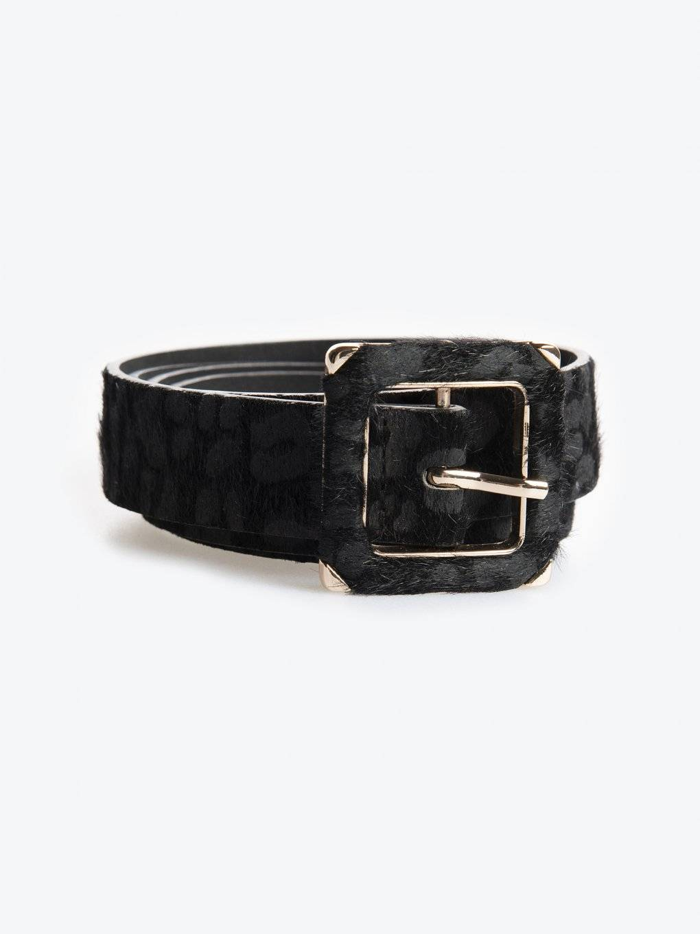 Animal pattern belt