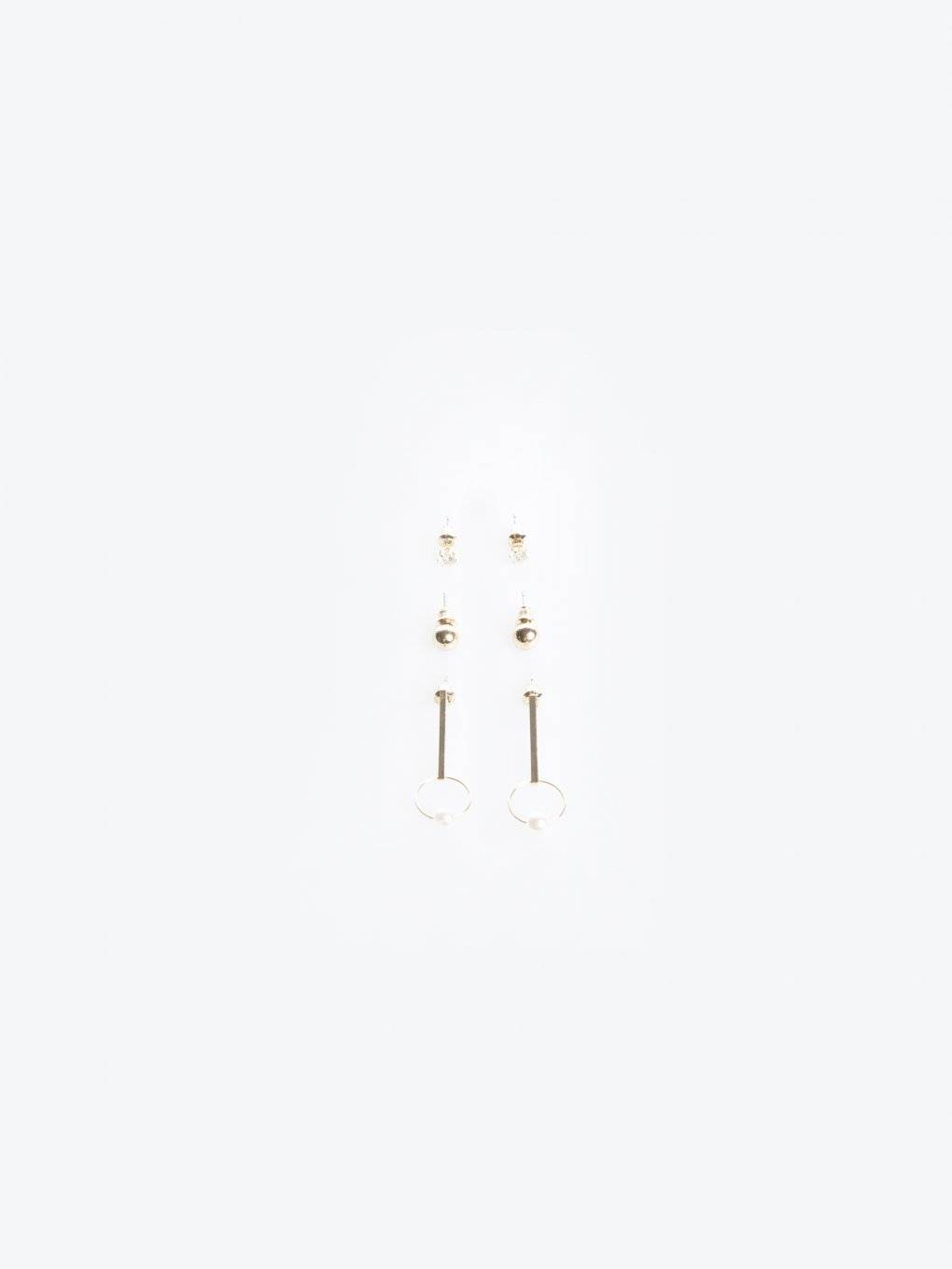 3-pack earrings set