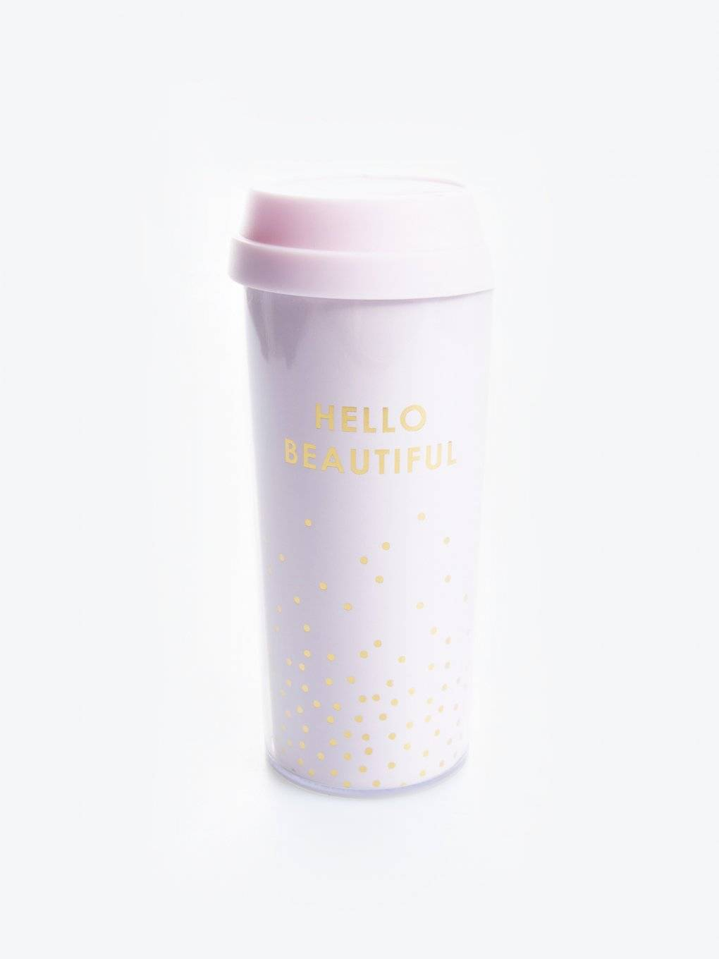Reusable plastic cup