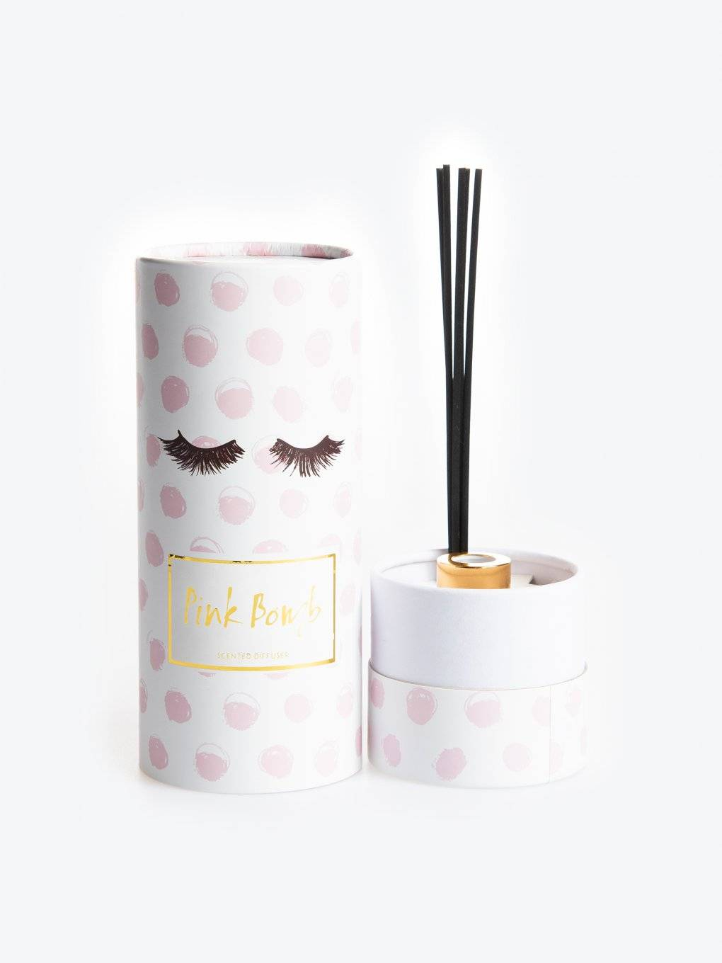 Pink bomb scented fragrance diffuser