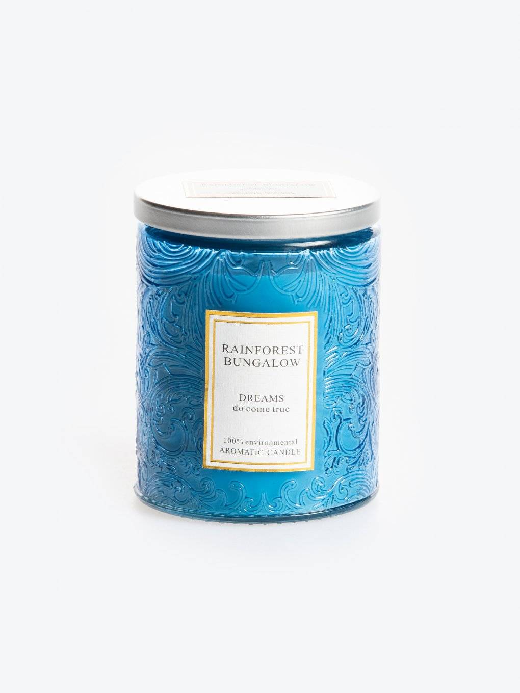 Rainforest bungalow scented candle