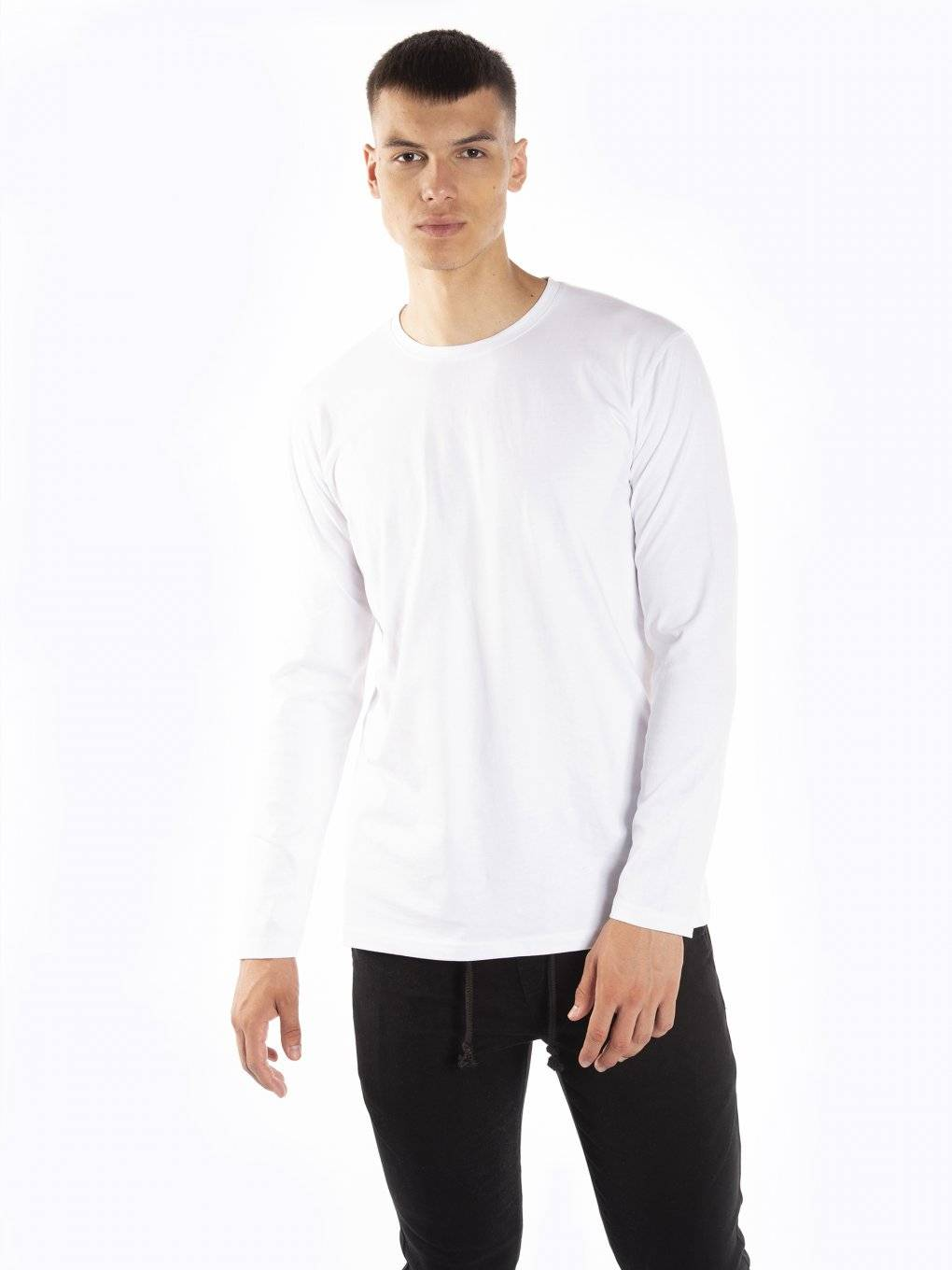 Basic jersey long sleeve t-shirt