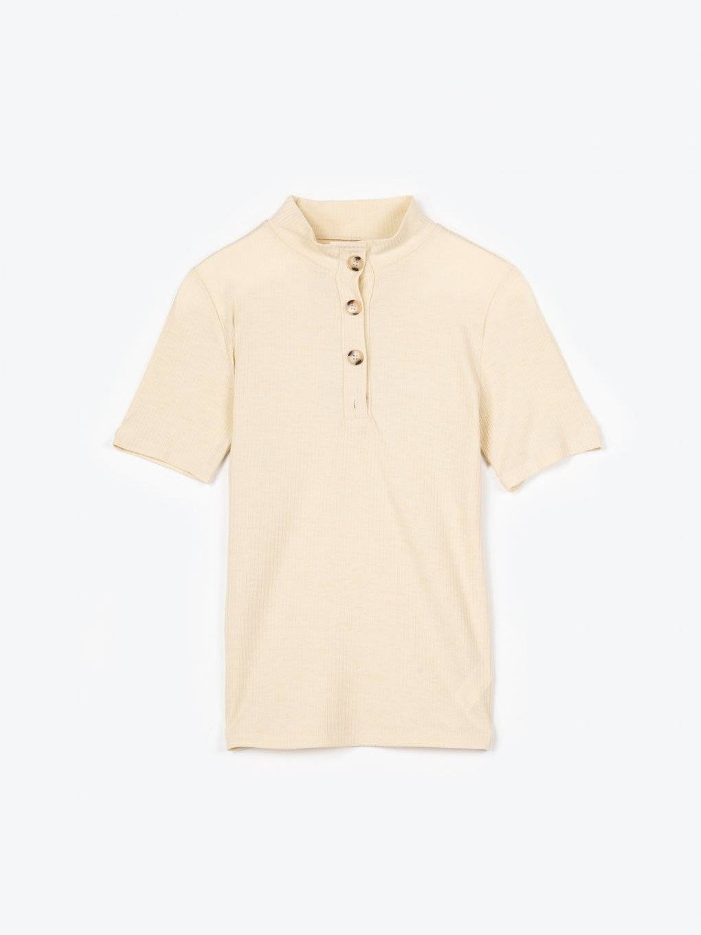 Button up t-shirt