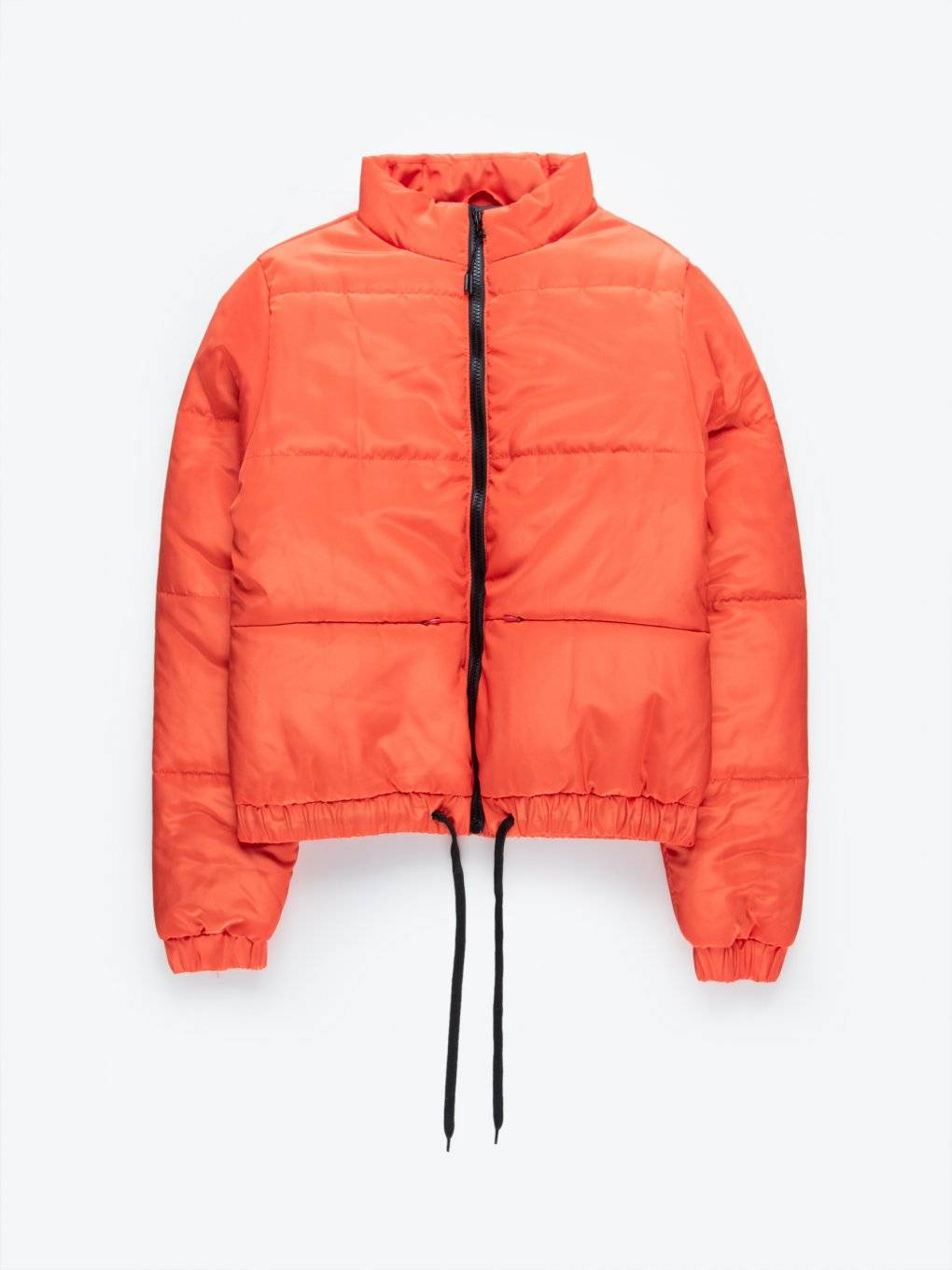 Quilted padded bomber