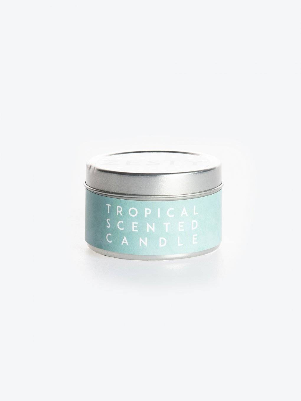 Pineapple scented candle  in a tin