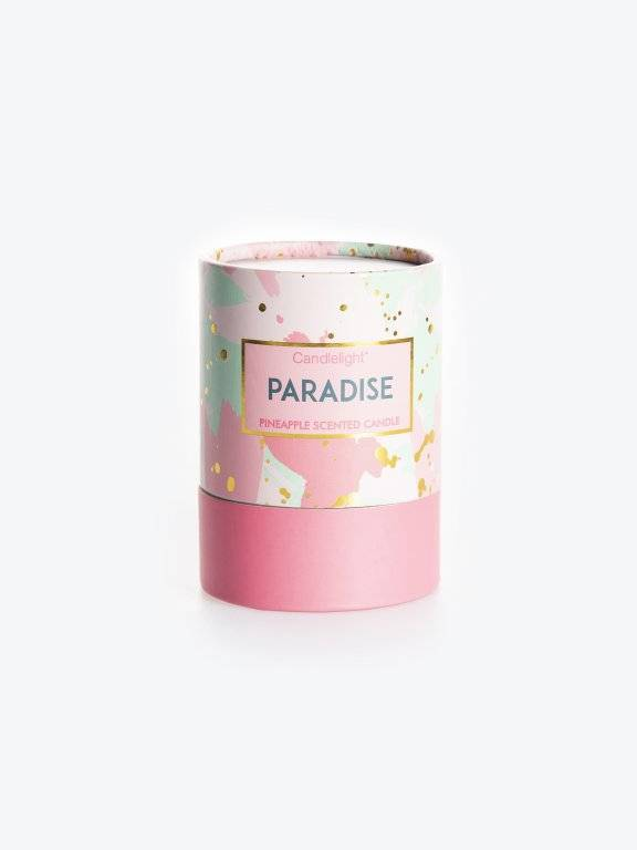 Pineapple scented candle in box
