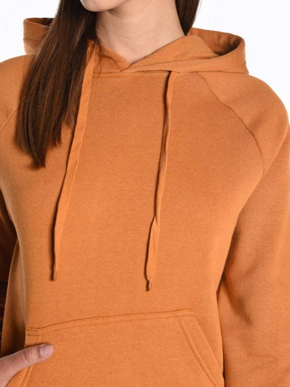 Basic hoodie with kangaroo pocket