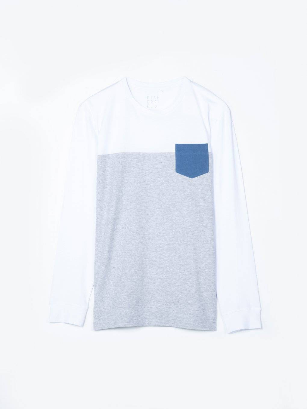 T-shirt with contrast chest pocket