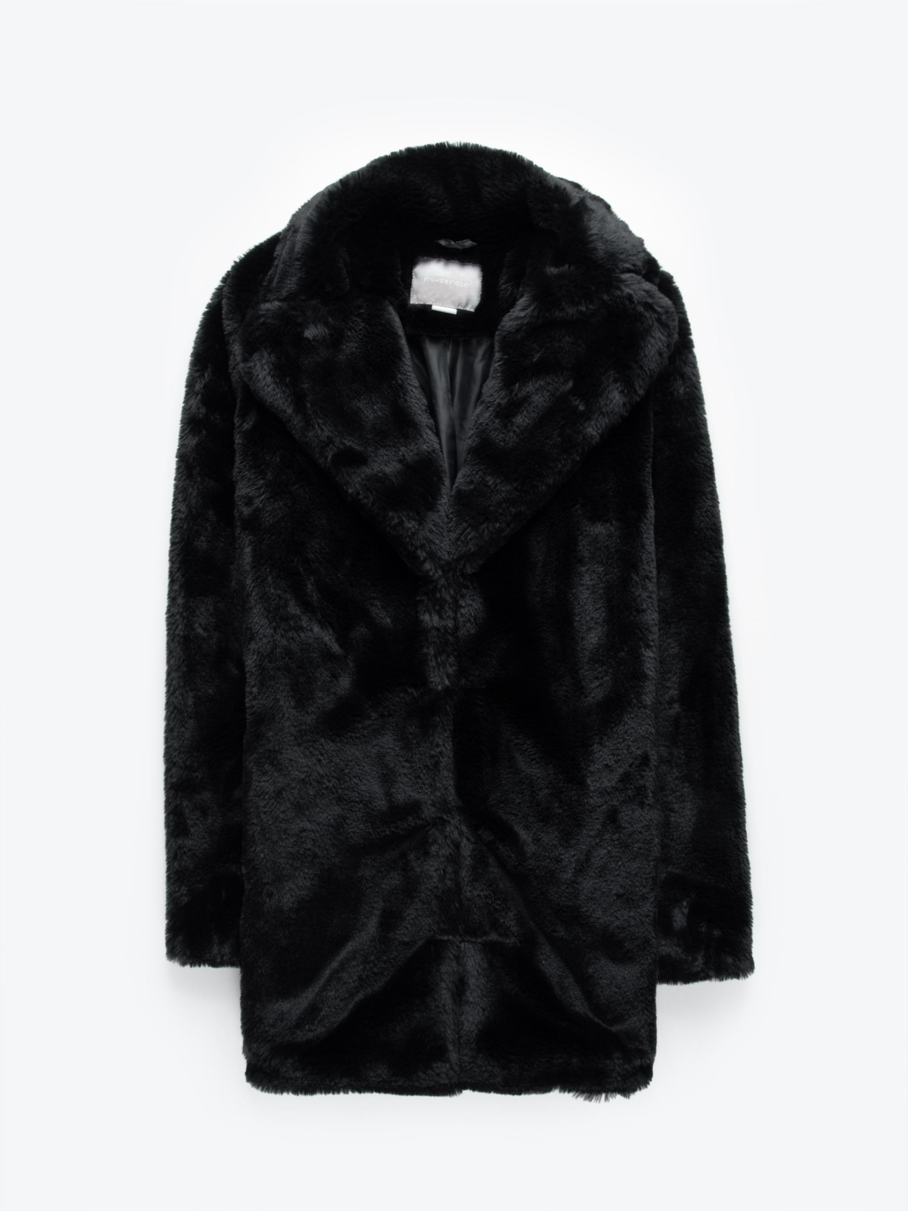 GATE Kabát z umělé kožešiny