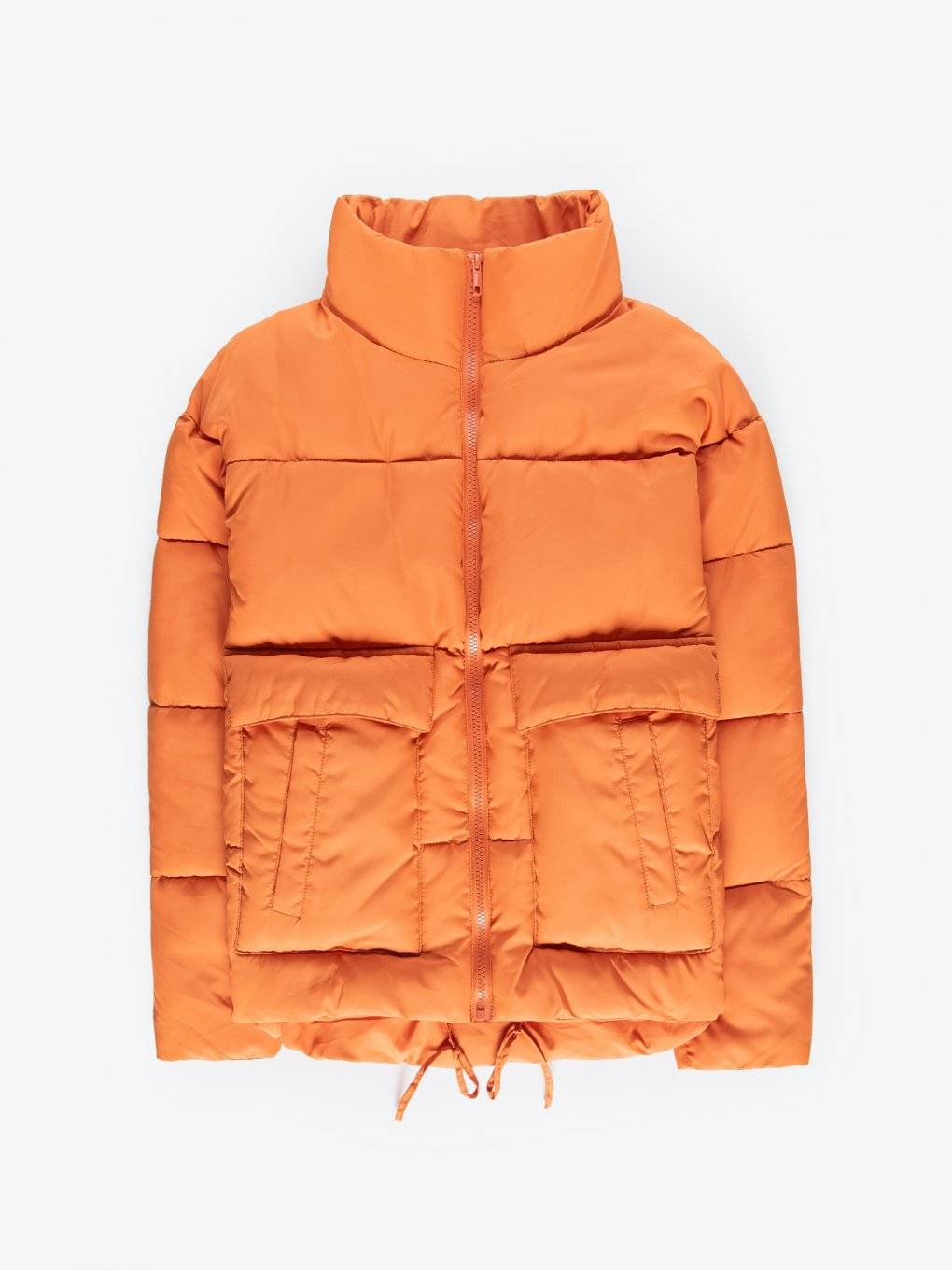 Quilted padded puffer jacket