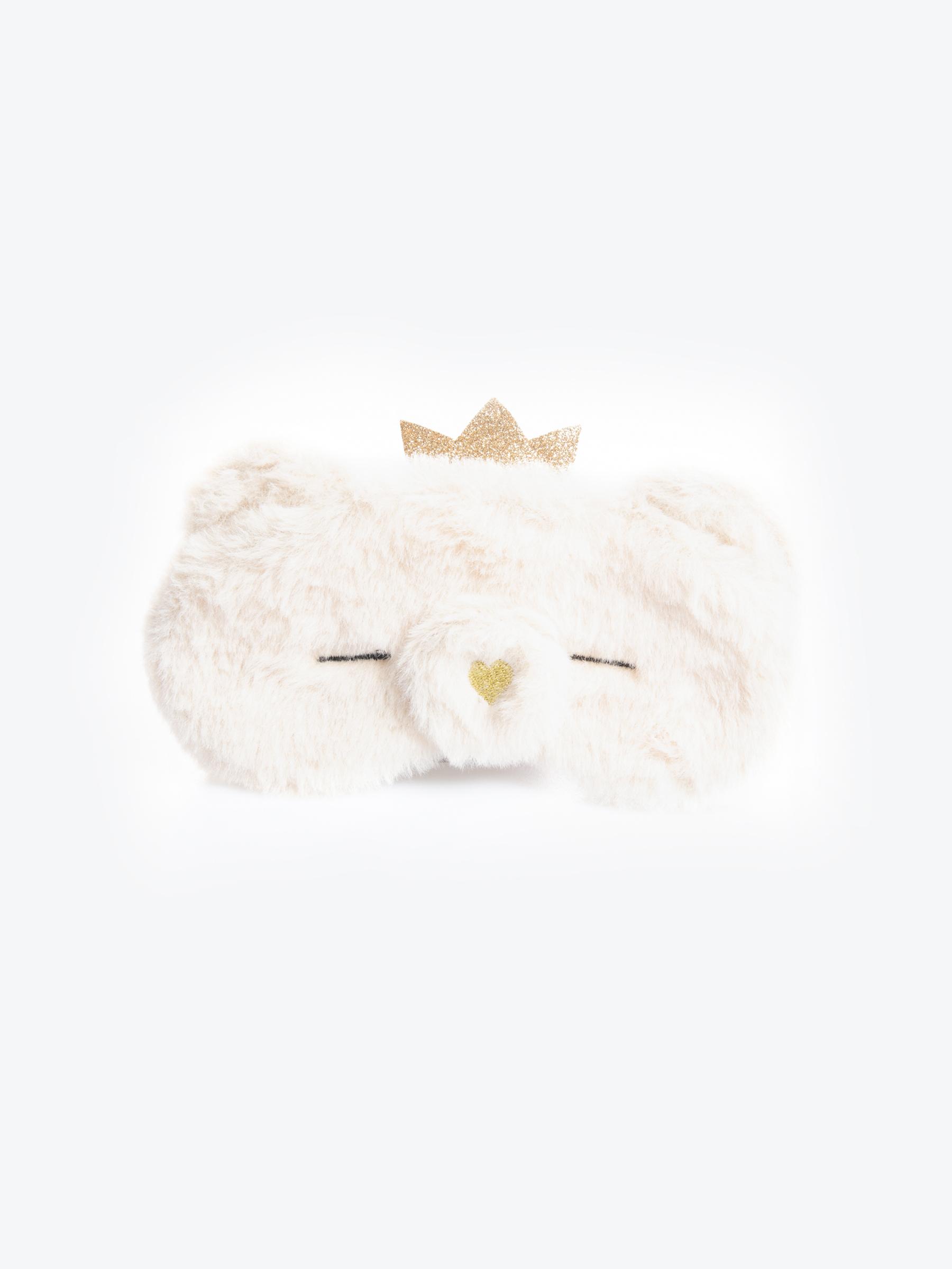 GATE Maska na spanie z umelej kožušiny