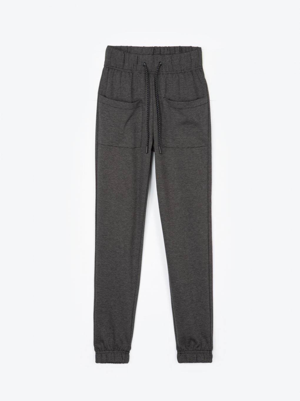 Sweatpants with large pockets