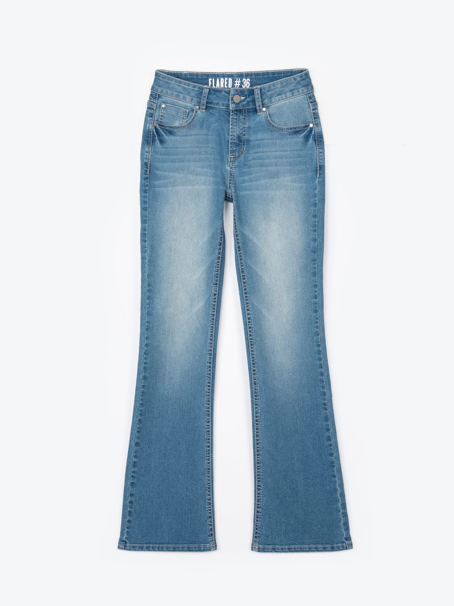 GATE Zvonové džínsy