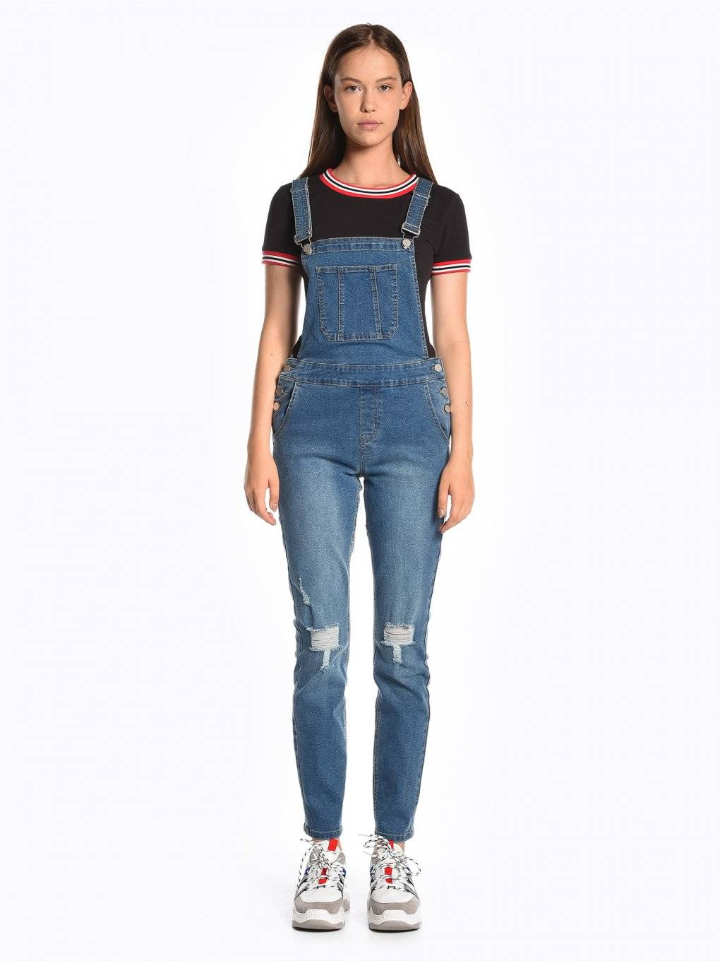 Dungaree jeans