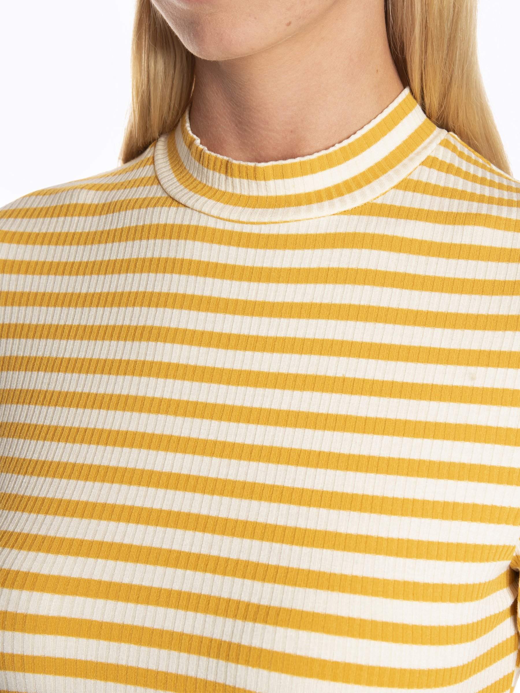12,98 €,   Striped ribbed high neck dress