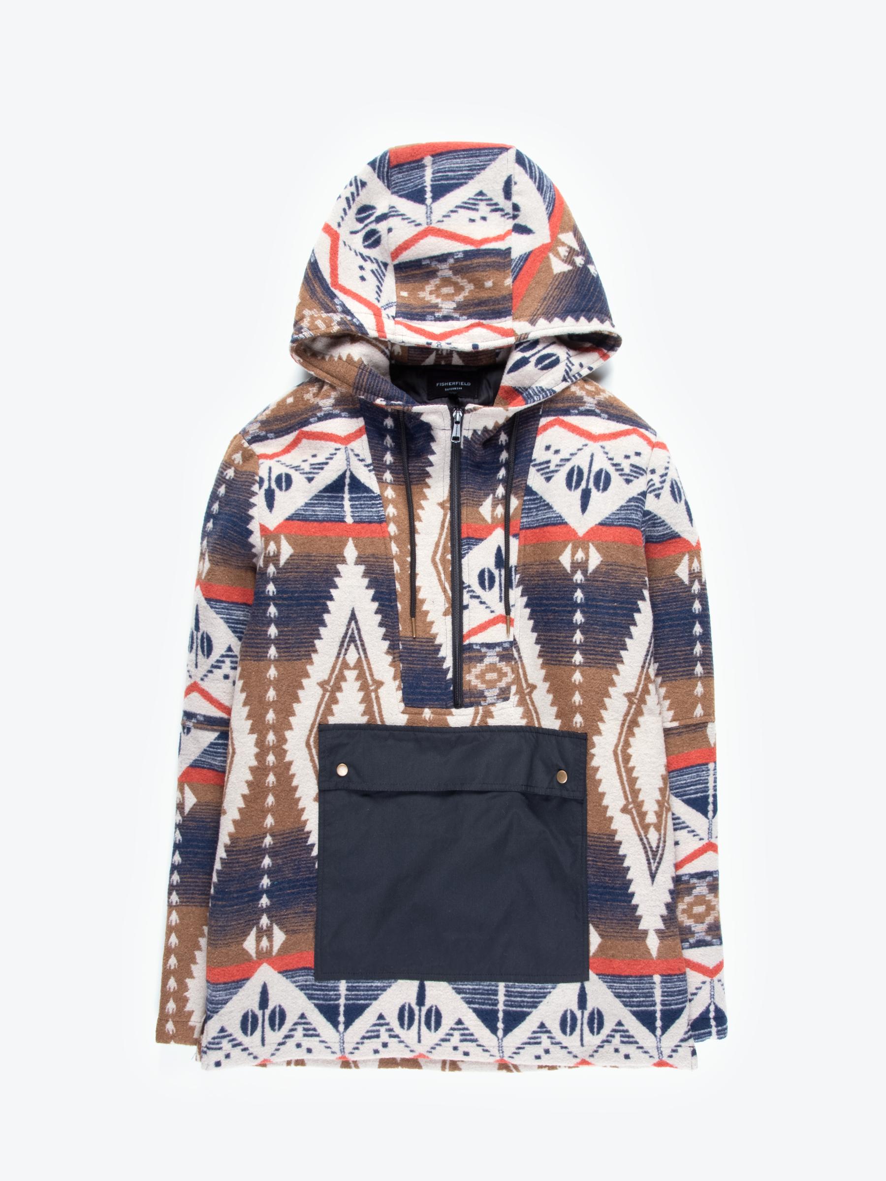 GATE Kabát s potlačou s kapucňou