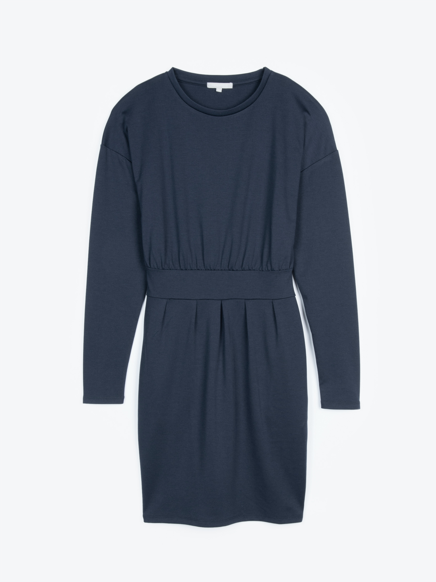 GATE Úpletové šaty s vreckami