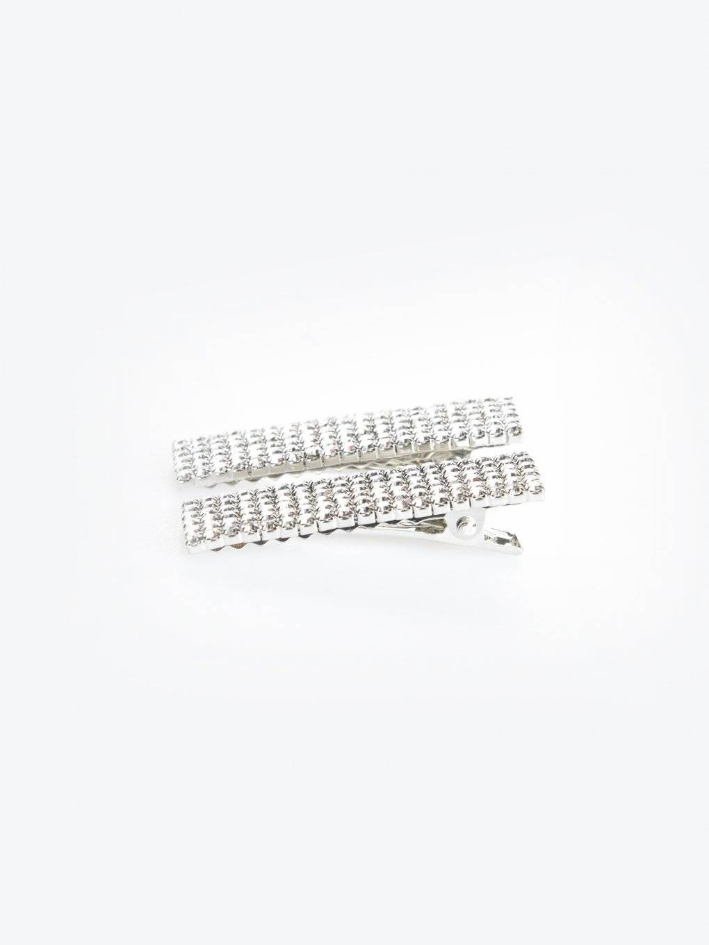 2-pack of strass hair grips