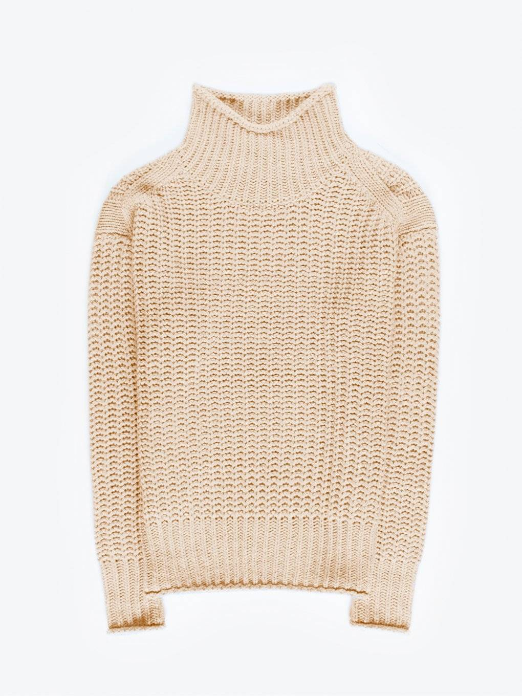 Roll neck jumper