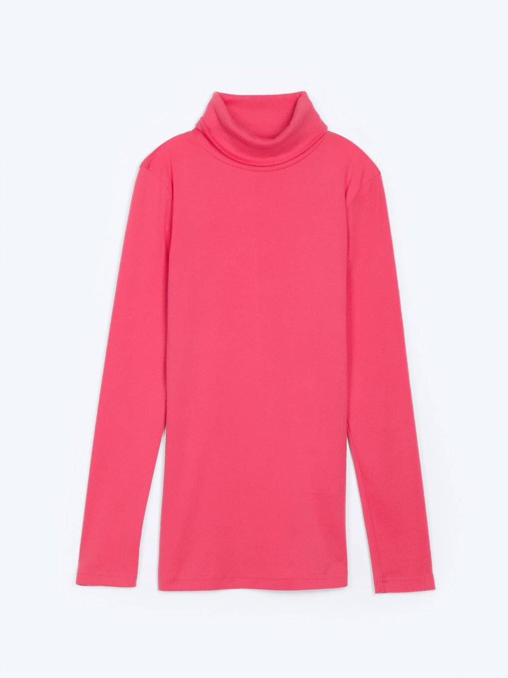 Roll neck t-shirt