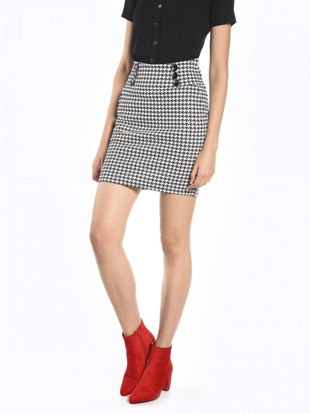 Bodycon pepito skirt