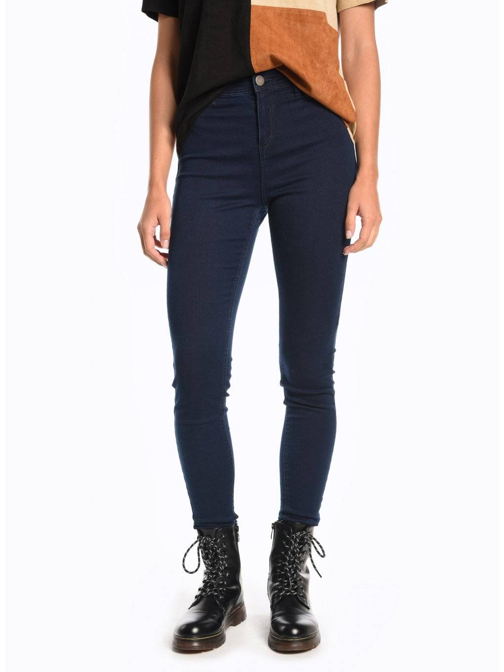 Basic high rise skinny jeans
