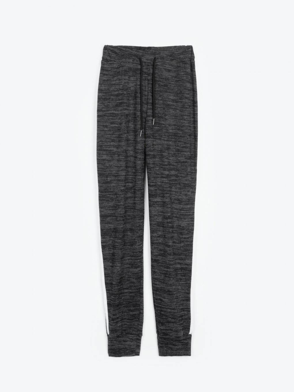 Sweatpants with stripes