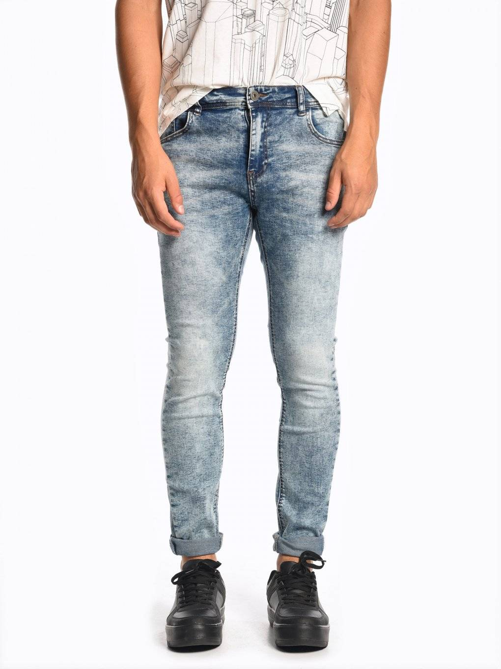 Straight slim fit jeans