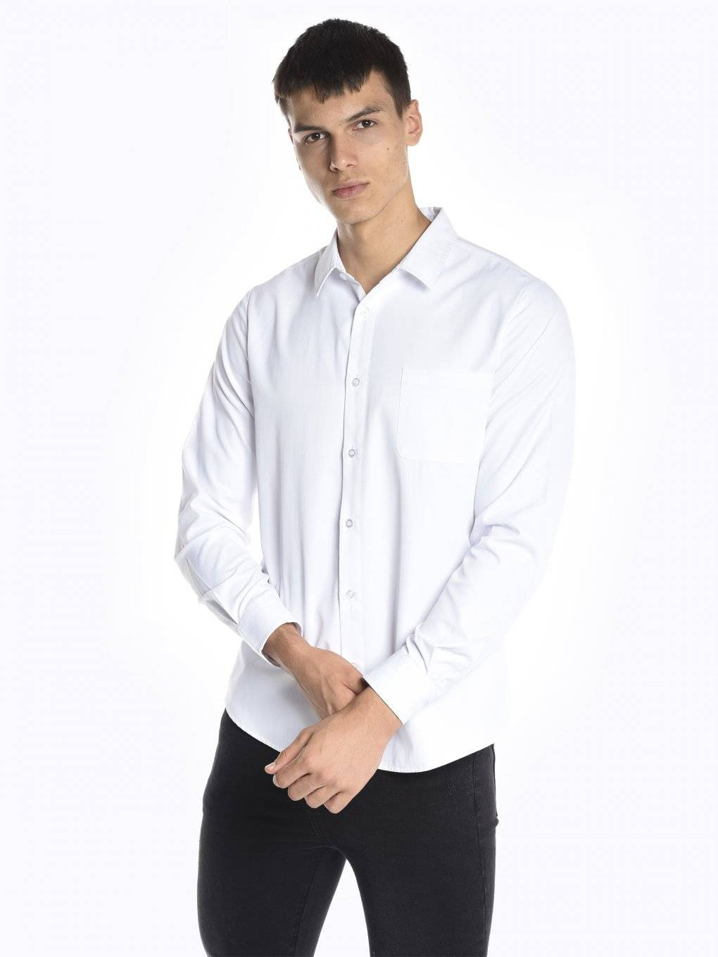 Basic regular fit shirt