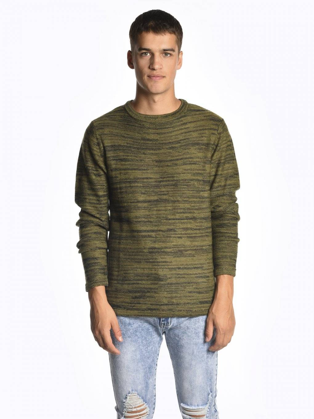 Scoop hem jumper