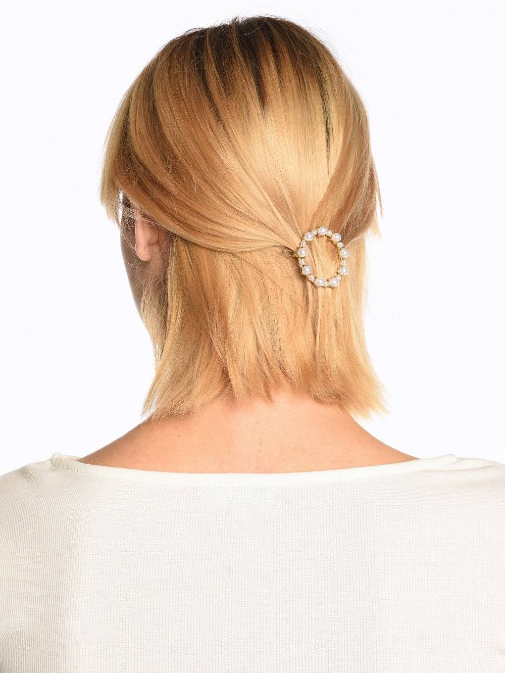 Hairgrip with pearls