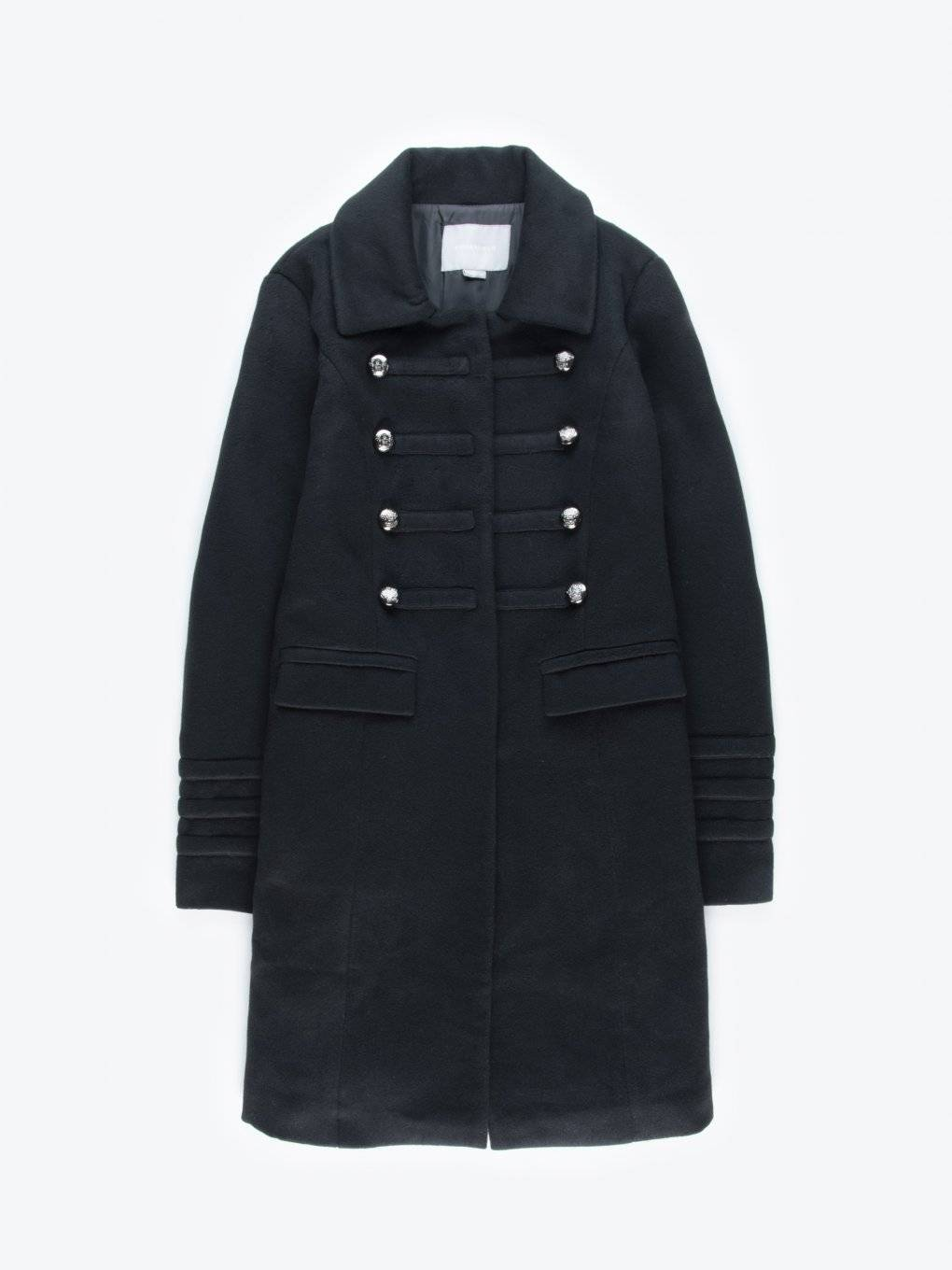 Double brested military coat