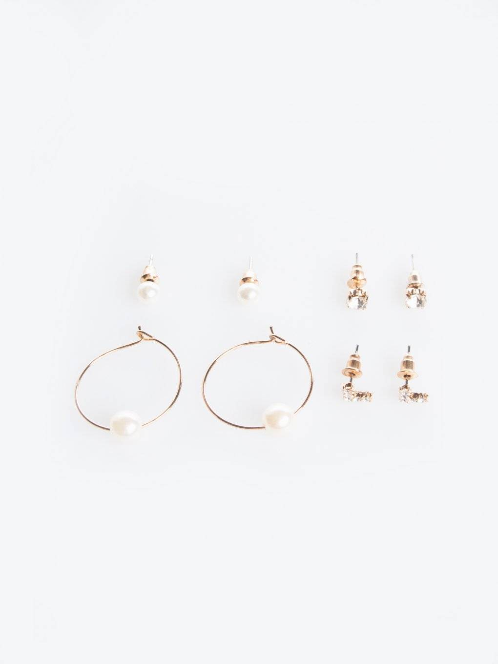 4-pack of earrings