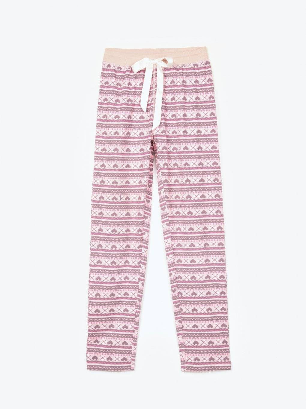 Printed pyjama bottoms
