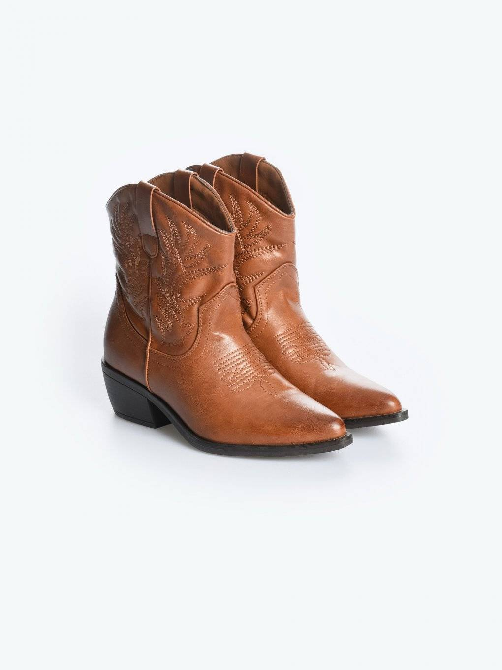 Cowboy ankle boots