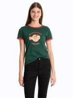 Christmas printed t-shirt