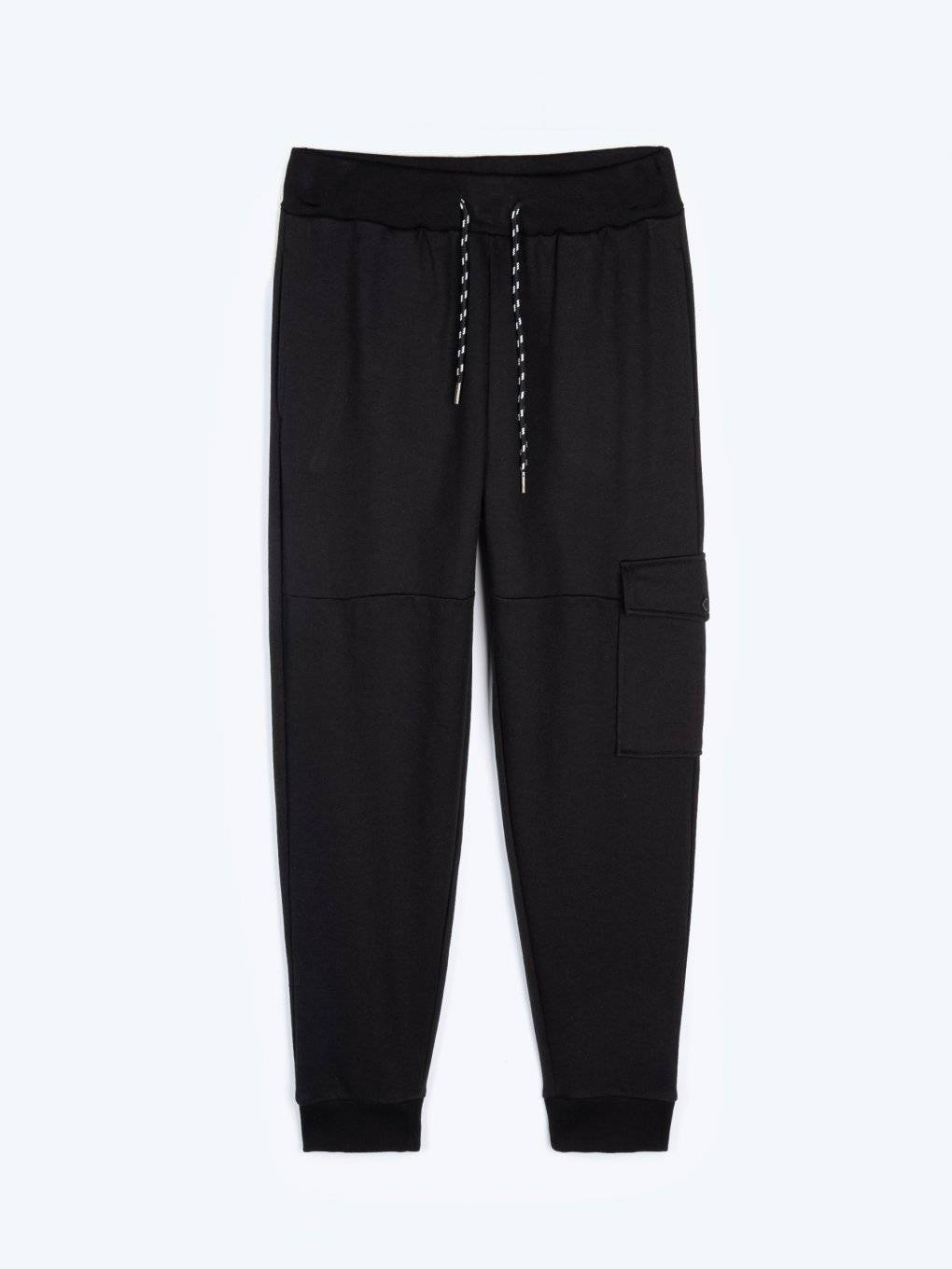 Sweatpants with side pocket