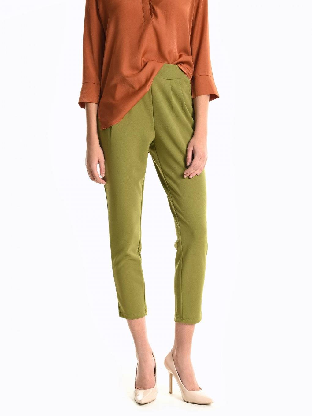 Carrot fit trousers