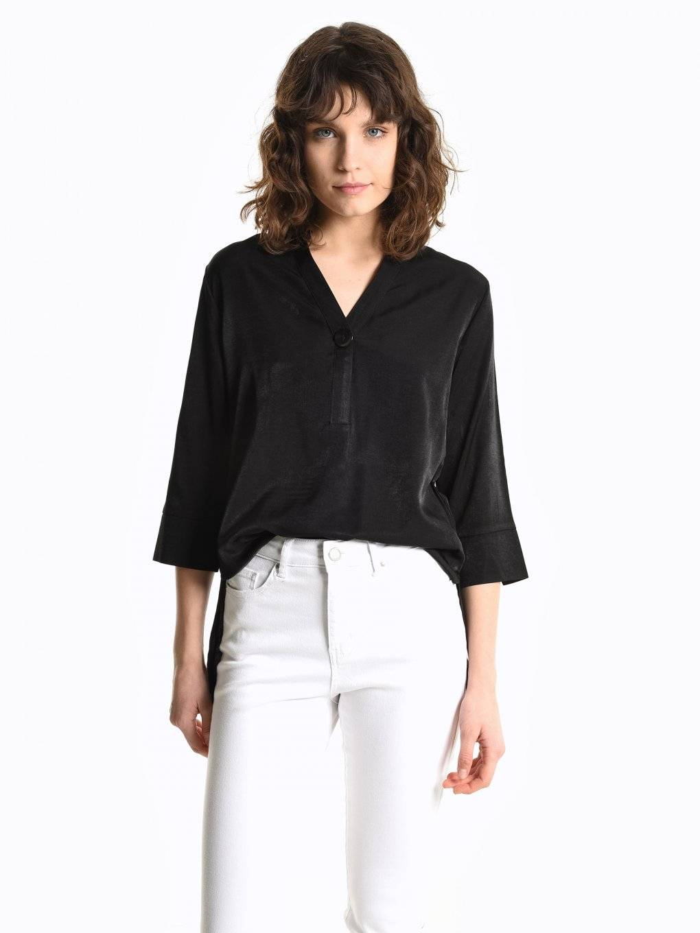Regular fit blouse