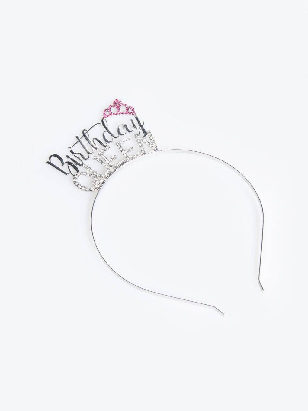 "Headdress ""Birthday queen"""