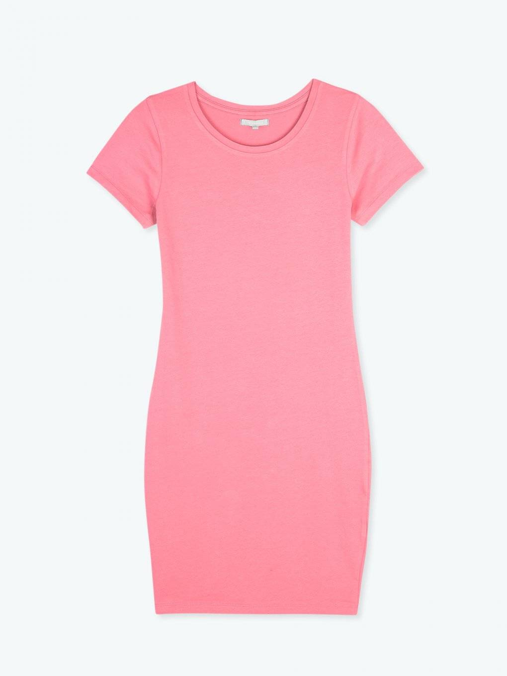 Stretch jersey neon dress