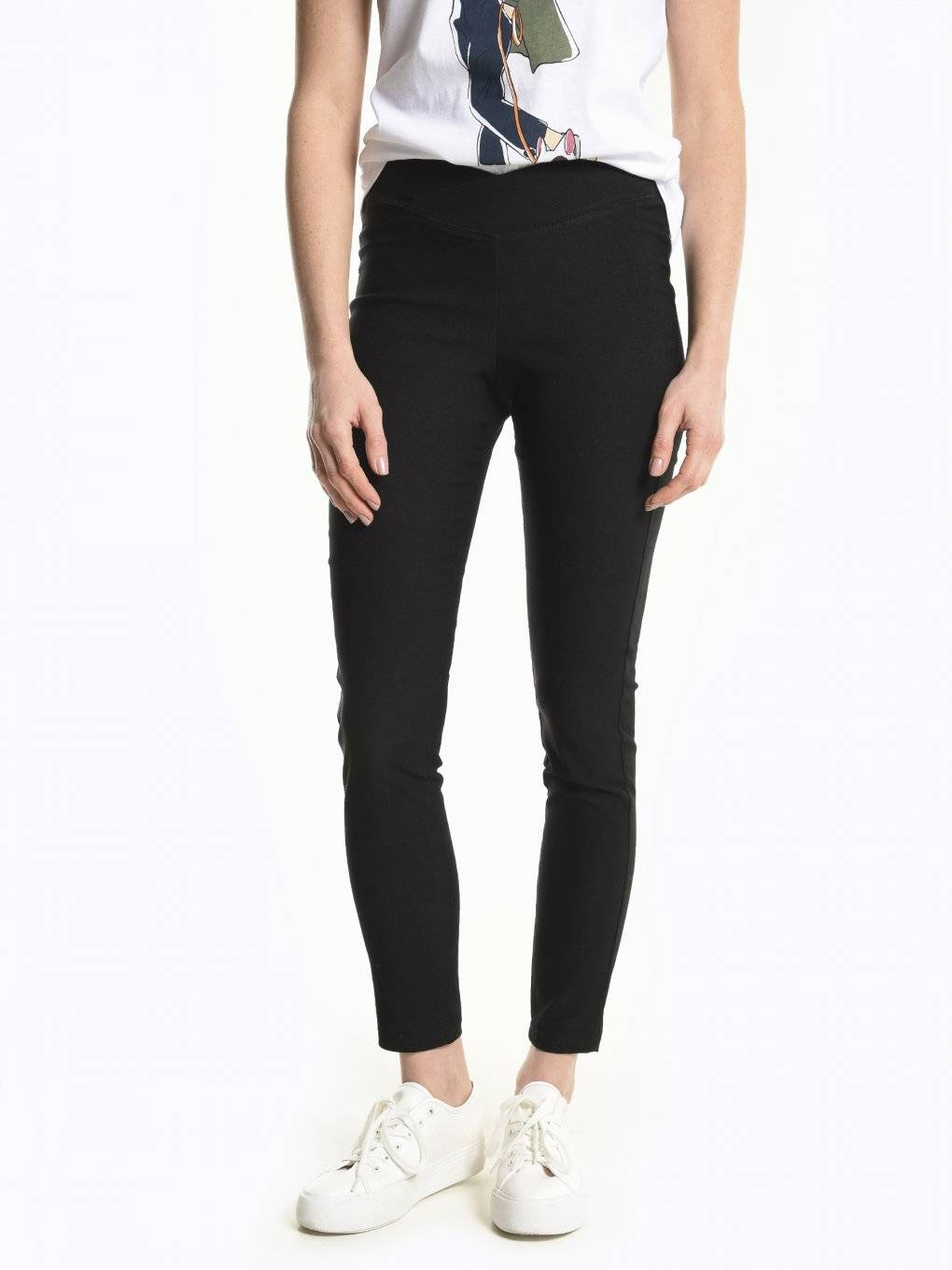 Super stretch knitted trousers