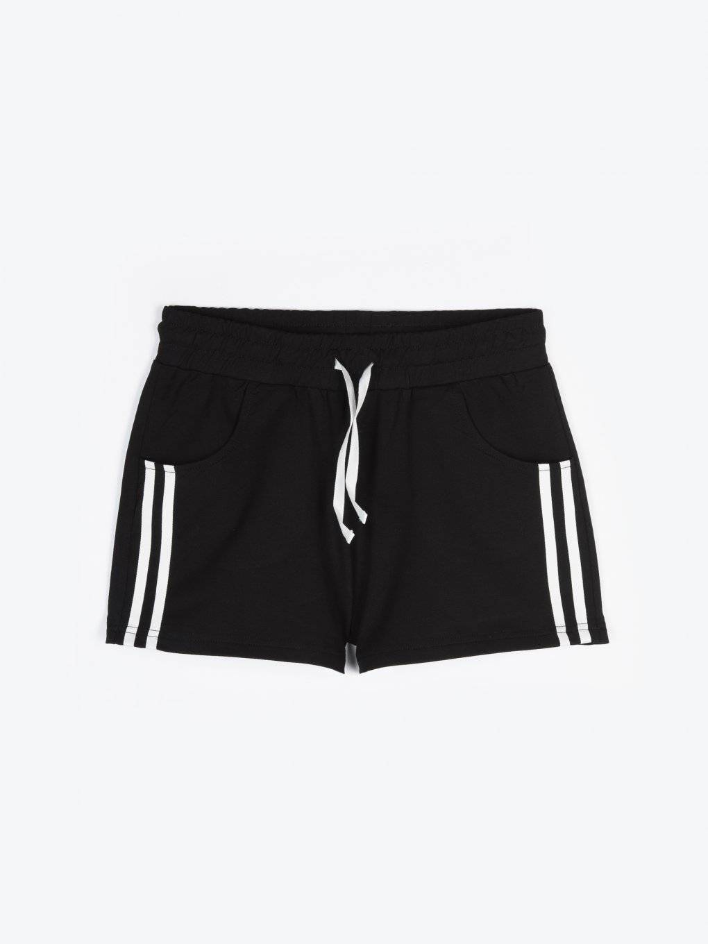 Sweatshorts with pockets