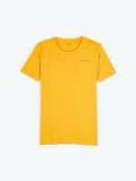Basic short sleeve jersey t-shirt with chest pocket