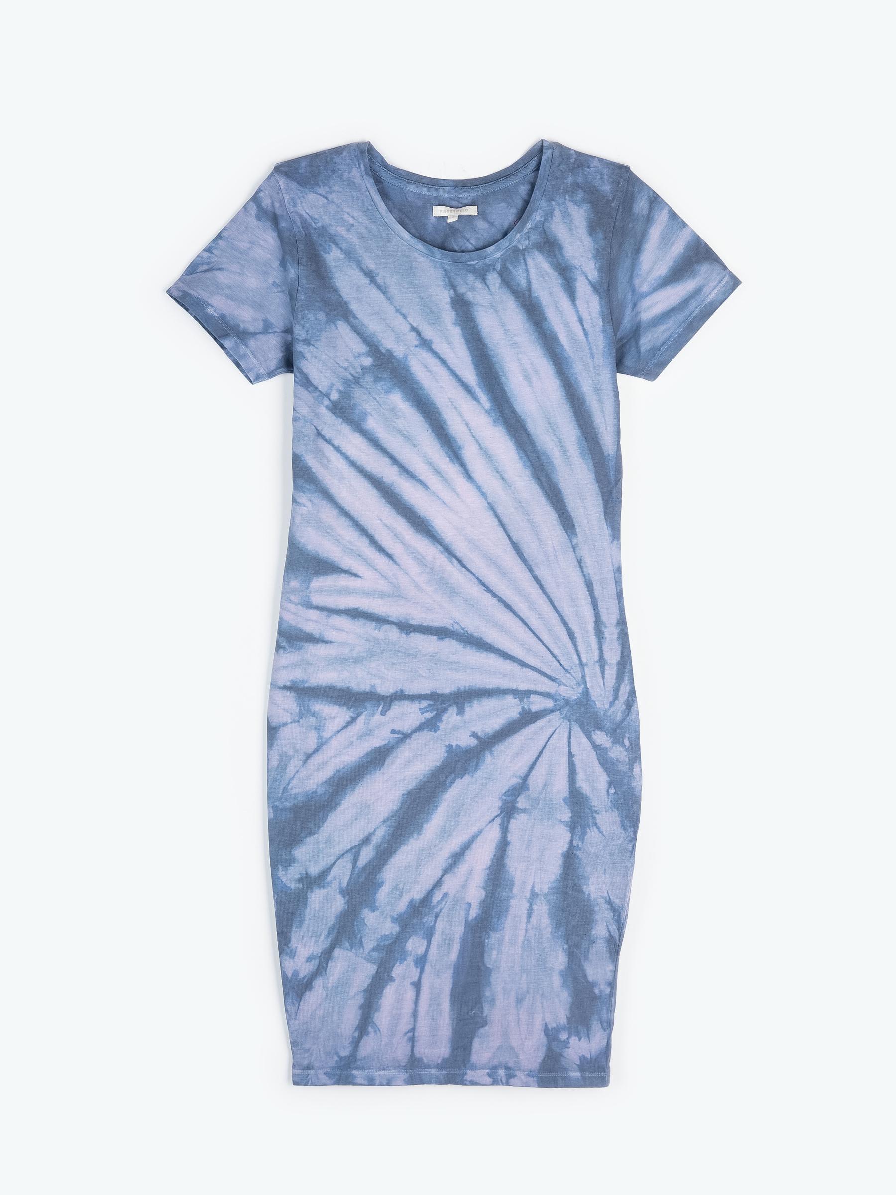 GATE Batikované tričkové šaty
