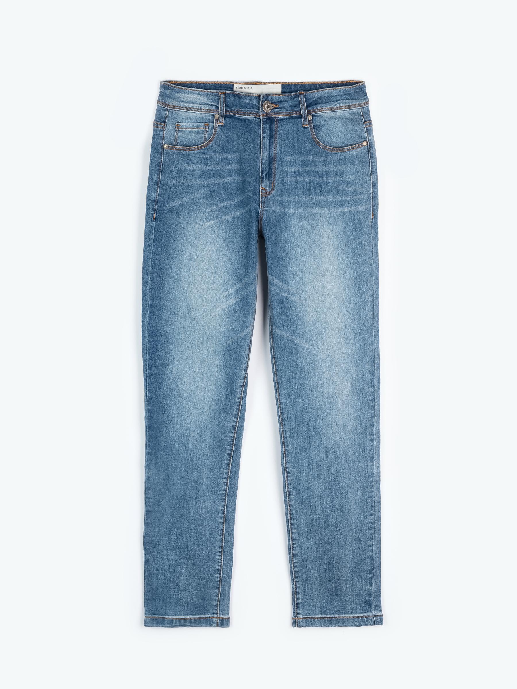 GATE Jednoduché džíny stright slim fit