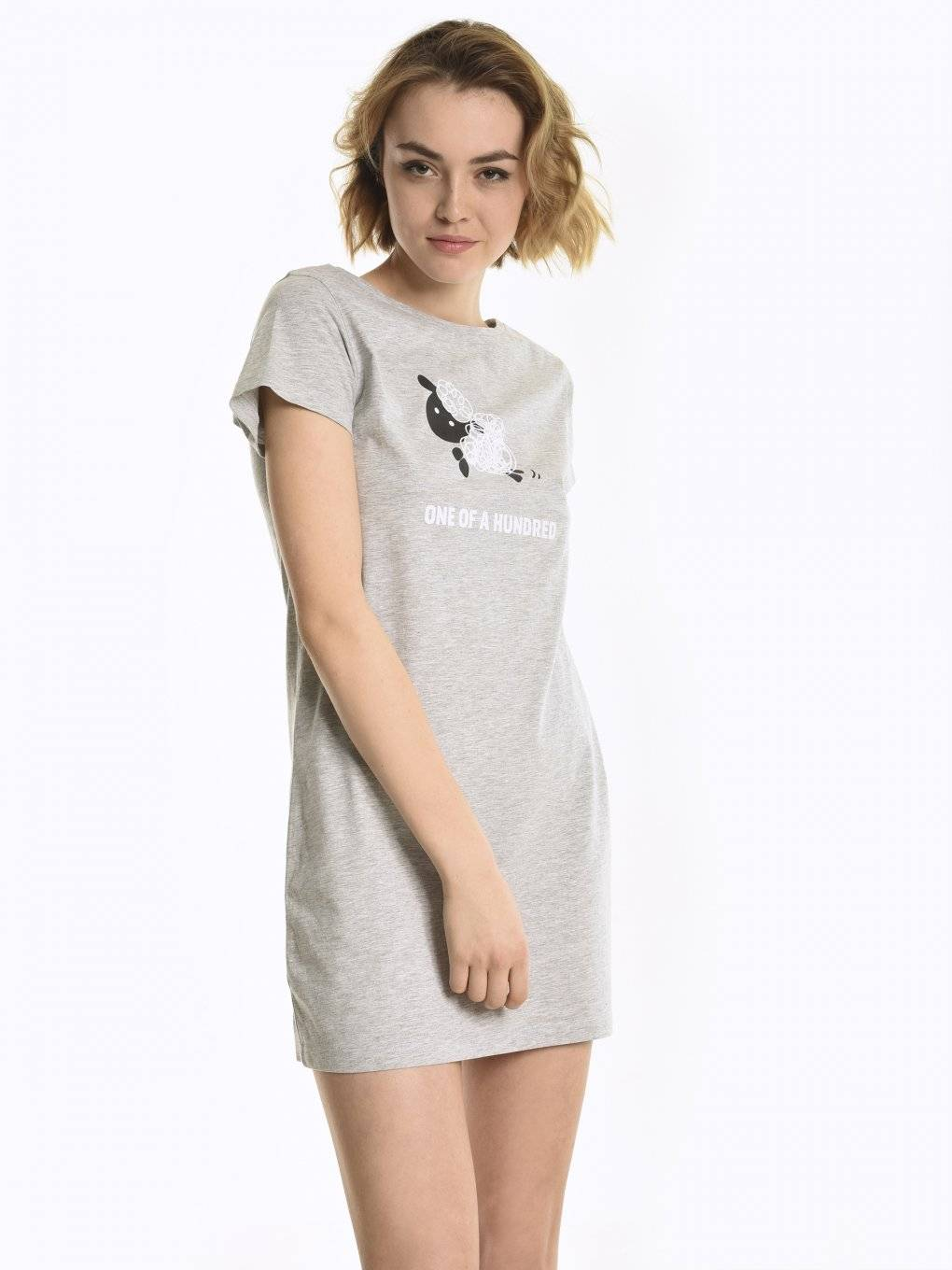 Nightdress with print