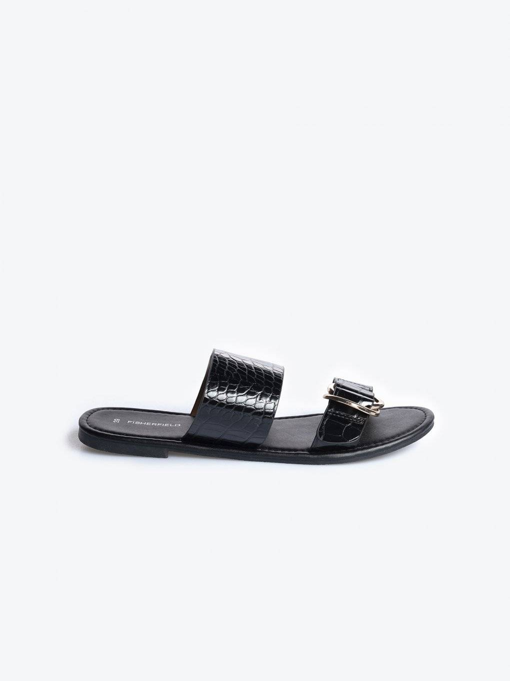 Slides with croc effect