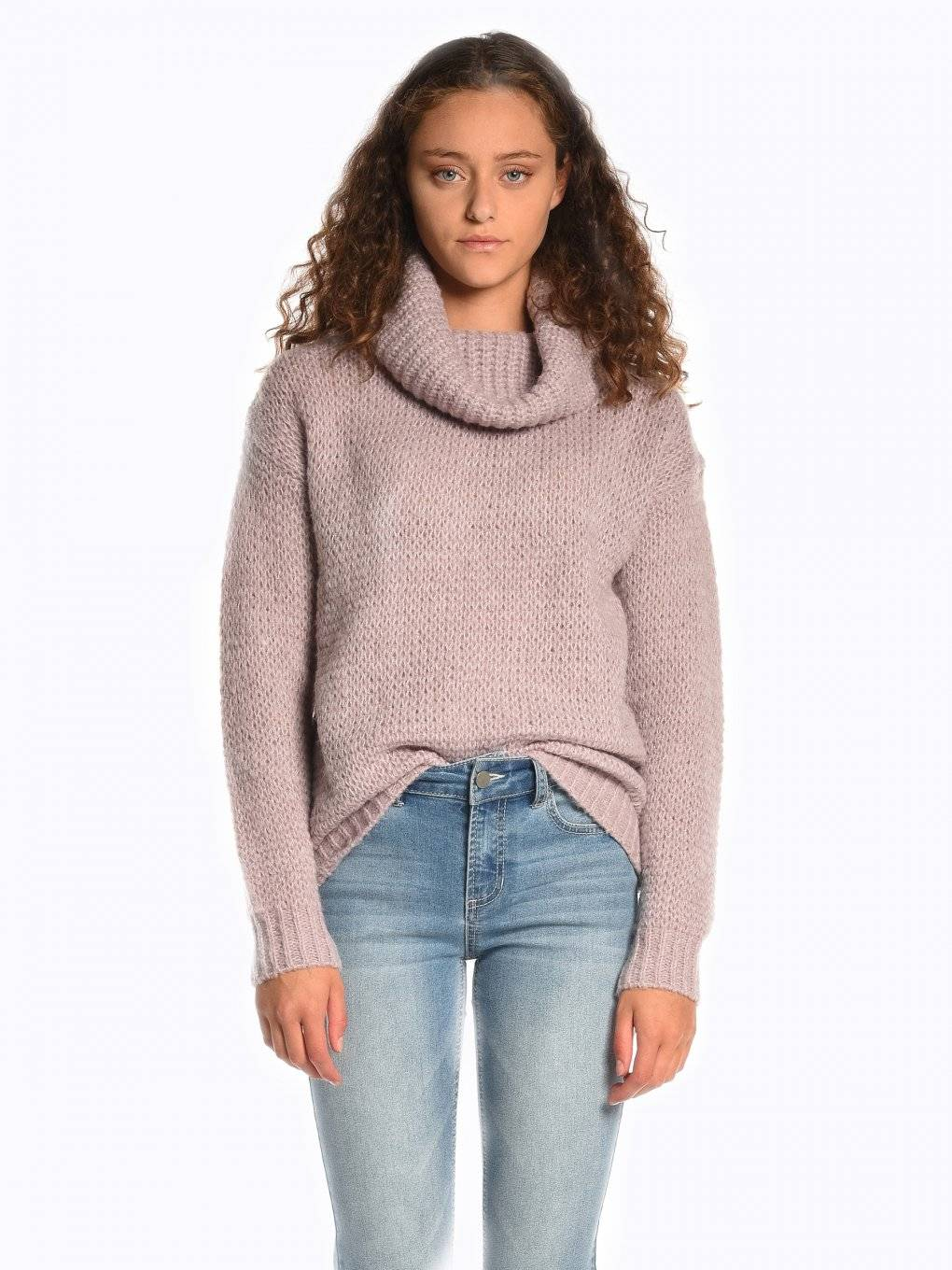Structured rollneck sweater